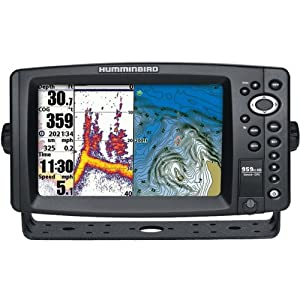 HUMMINBIRD 959ci HD 8 Combo GPS Sonar, MFG# 409160-1, 8 color LCD, 480V x 800H, 83... by Humminbird