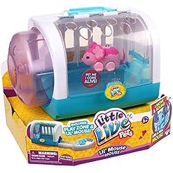 Little Live Pets - Set di topolino Blossom con casetta, colore: Rosa