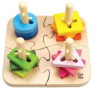 Hape - Creative Peg Puzzle