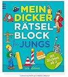 Mein dicker Rätselblock für Jungs (Mein dicker Kindergarten-Rätselblock)