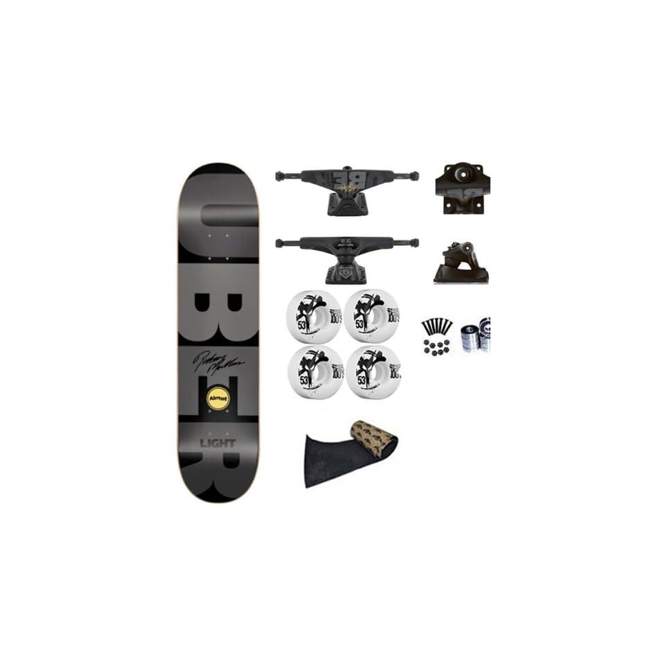 0fe3309ea6 Almost Rodney Mullen Gray Super Uber Light Spectrum 8.0 Skateboard ...
