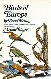 Birds of Europe (0070086044) by Bertel Bruun