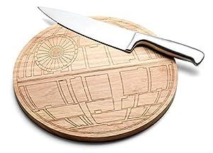 Star Wars Death Star Wood Cutting Board