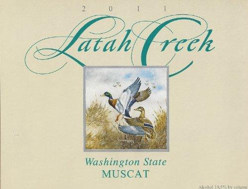 2011 Latah Creek Winery Yakima Valley Muscat 750 Ml