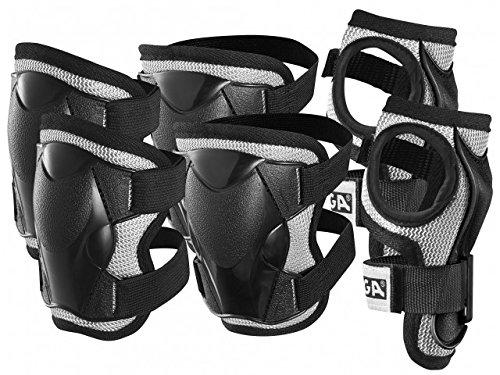 STIGA Set Comfort Protezione JR XS Nero