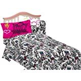 Mattel Sheet Set, Twin, Monster High Ghouls Rule