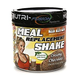 Nutri-Fusion Systems Meal Replacement Shake, Creamy Chocolate 12 oz (341 g)