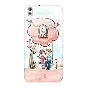 Special Swing Love Multicolor Back Case Cover for HTC Desire 816