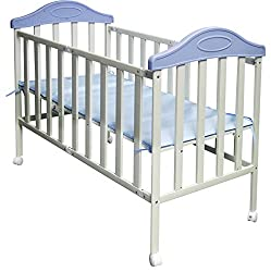 Sunbaby Collapsable Bed (Blue)