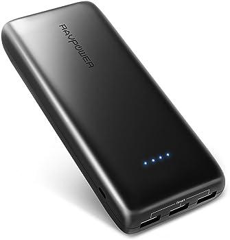 RAVPower RP-PB052 22000mAh Portable Power Bank + Wall Charger