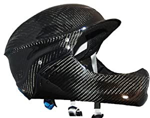 Shred Ready Carbon Deluxe Full Face Kayak Helmet by Shred Ready