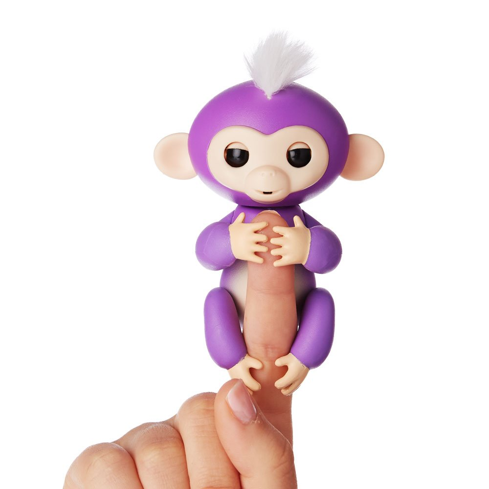 Purple Mia Fingerlings Interactive Baby Monkey