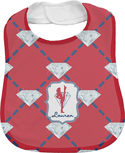 Red Diamond Dancers Personalized Bib