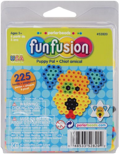 Perler Fuse Bead Activity Trial Size Kits-Puppy Pal