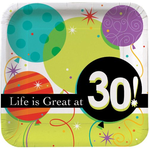 Life Is Great 30th 9in Plate