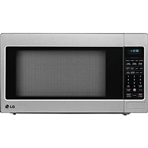 LG LCRT2010ST 2.0 Cu Ft Counter Top Microwave Oven With True Cook Plus and EZ Clean Oven, Stainless Steel - Optional Trim Kit Available from LG
