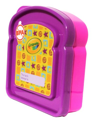 Crayola Purple and Pink Sandwich Keeper - 1