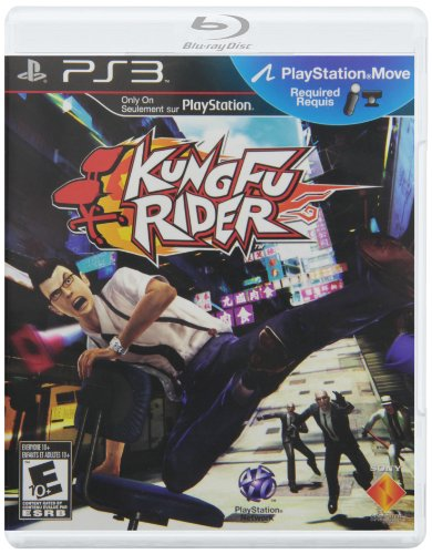 Kung Fu Rider (Motion Control) - Playstation 3 - 1