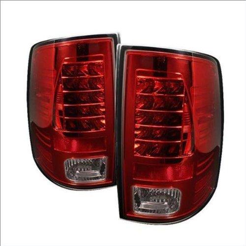 For 2000-2005 Ford Ranger LED Gloss Black Housing Clear Lens Tail Lights Lamps