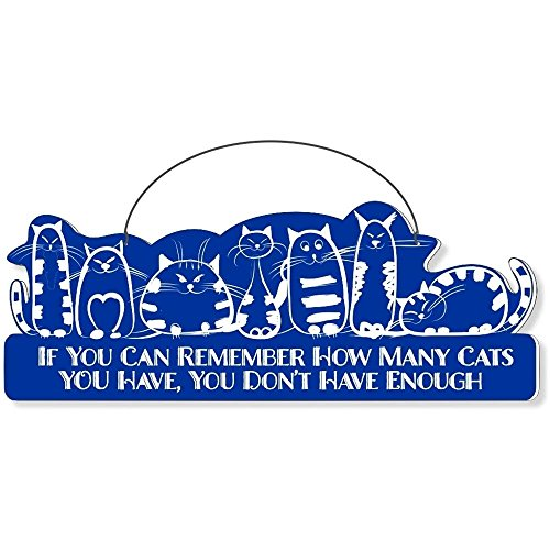 Cool Cats Cat-Gang Shaped Laser-Etched 3-In-1 Plaques Ver1 Not Enough Bue front-558869