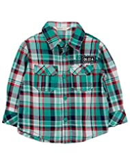 Teal Green Check Shirt Green Check