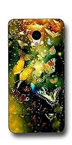 """SEI HEI KI Designer Back Cover For Meizu M3 Note - 5.5"""" - Multicolor"""