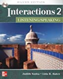 img - for Interactions 2 - Listening/Speaking Student Book + eCourse Code: Silver Edition book / textbook / text book