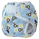 Thirsties Diaper Cover - Baby Bird, Blue, Medium (18-28 lbs) $12.00