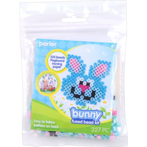 Perler Beads Fused Bead Kit, Bunny