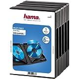 Hama Lot de 5 boîtiers pour 6 DVD Noir