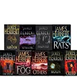 James Herbert James Herbert Collection 9 Books Set.(Moon Haunted The Spear The rats The survivor Creed The fog Sepulchre OLther)