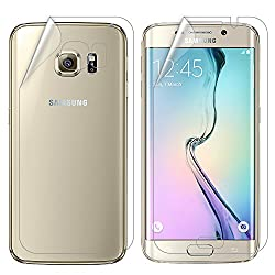 Tukzer Samsung S6 Edge Plus Premium perfect cut Front and Back, full screen edge to edge Thin Screen Protector designed For Samsung S6 Edge Plus.