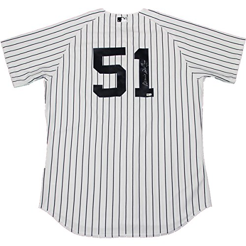 Bernie Williams Yankees Authentic Home Jersey Signed On Back Number (Mlb Auth) front-677589