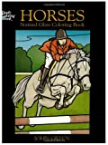 Horses Stained Glass Coloring Book (Dover Nature Stained Glass Coloring Book) (0486433412) by Green, John