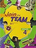 Anglais 4e Join the Team (1CD audio)