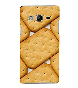 Biscuit Design Cute Fashion 3D Hard Polycarbonate Designer Back Case Cover for Samsung Galaxy Z3 Tizen :: Samsung Z3 Corporate Edition
