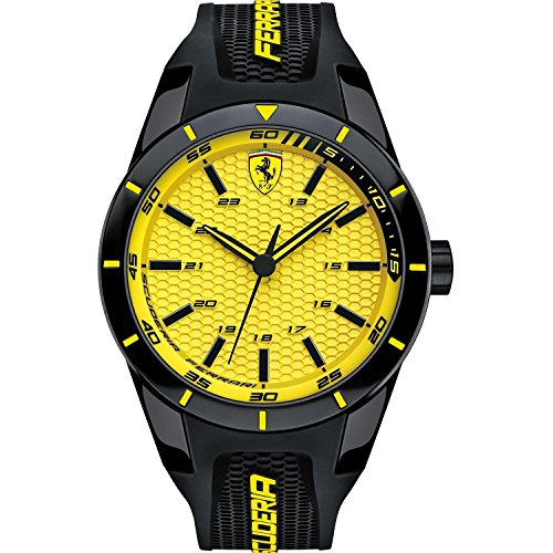 cd89b857717d Scuderia Ferrari Redrev Mens Watch 0830246