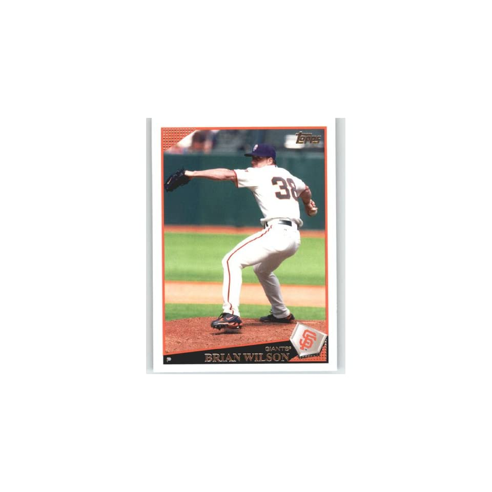 2009 Topps #463 Brian Wilson   San Francisco Giants