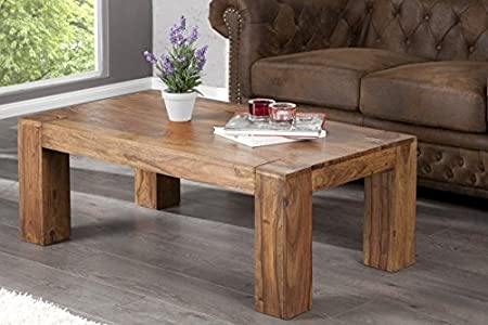 DuNord Design Couchtisch Sofatisch JAKARTA 110cm Palisander Sheesham Massiv Massivholz Tisch