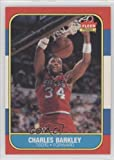 Charles Barkley RC (Rookie Card) Philadelphia 76ers (Basketball Card) 1986-87 Fleer #7 at Amazon.com
