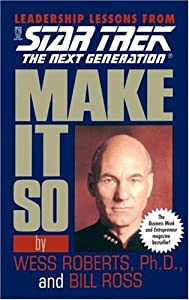 "Cover of ""Make It So (Star Trek: The Next..."