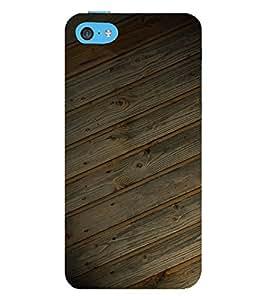 EPICCASE Woody case Mobile Back Case Cover For Apple iPhone 5c (Designer Case)