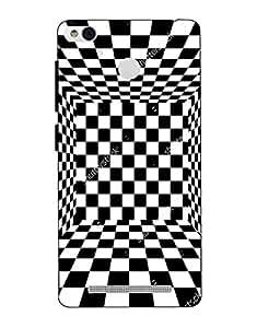 Case Cover Printed Multicolor Hard Back Cover For Xiaomi Redmi 3S