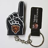 NFL Chicago Bears #1 Finger Keychain