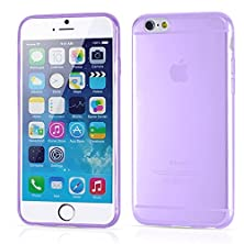buy Seelike Ultra Thin Tpu Soft Clear Water Mobile Phone Protective Cover Case For Iphone 6S 4.7 Inch With Dust-Proof Plug, Scratch-Proof Shock Absorbing Cell Phone Skin Protect Your Smartphone, Purple