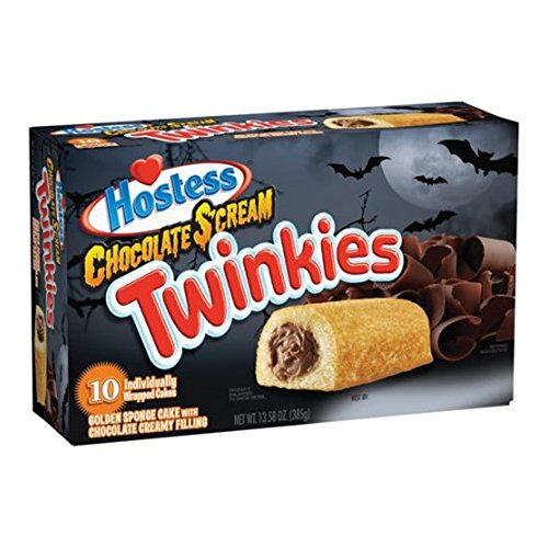 Hostess Twinkies, 13.5oz,10 count Box (Chocolate Scream) (Chocolate Twinkies compare prices)