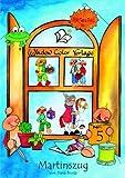 Window-Color-Vorlage: Martinszug. Window Color Vorlage