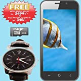 OptimaSmart OPS 61D Dual SIM Android OS 4.2.2 Jelly Bean Smart Phone- Black With Free 4gb Rage Memory Card +watch...