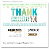 Amazon Gift Card - E-mail - Thank You (Typography)