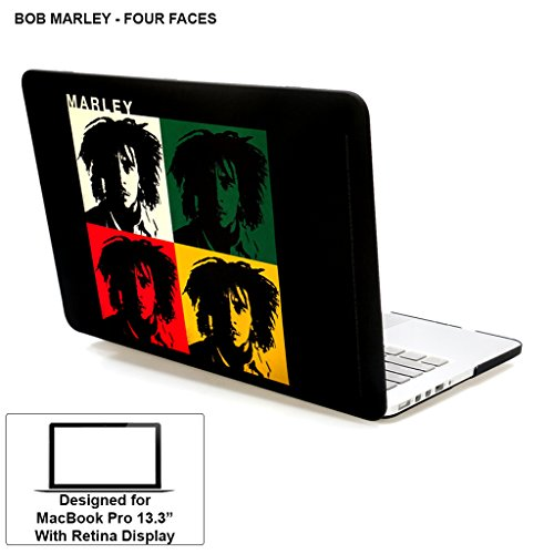"Rubberized Hard Case/ Hard Shell Cover For 13.3"" Apple MacBook Pro 13 With Retina Display (Models: A1425 And A1502..."